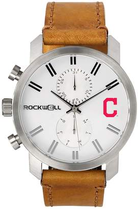 Rockwell Men's Cleveland Indians Apollo Chronograph Watch