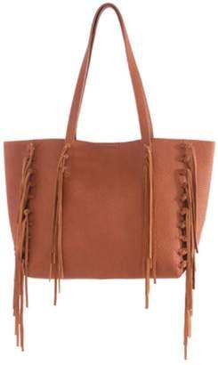 Shiraleah Fringe Tote Bag