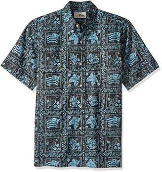 Reyn Spooner Men's Spooner Kloth Classic Fit Button Front Hawaiian Shirt Heritage