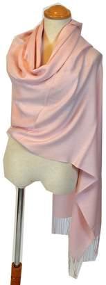 NEW COLORS Women's Luxury Silk Wool Twill Pashmina Shawl / Wrap