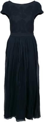 D-Exterior D.Exterior long jacquard knit dress