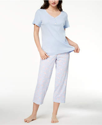 Charter Club Mix It Cotton Pajama Set, Created for Macy's