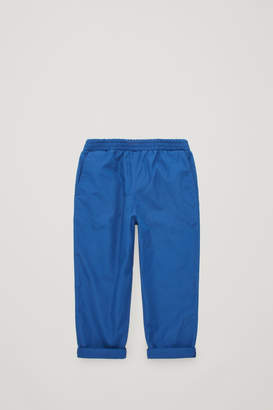 Cos ELASTICATED TURN-UP TROUSERS