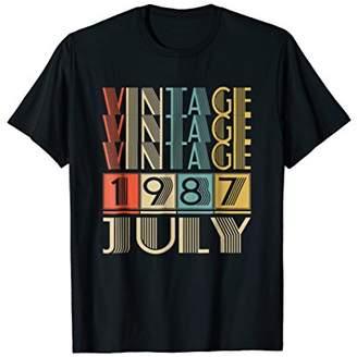 3.1 Phillip Lim Retro Vintage 1987 born in July Tshirt years old