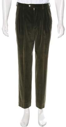 Missoni Velvet Pleated Pants