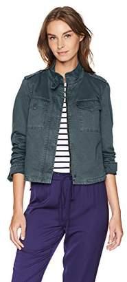 Levi's Women's Two-Pocket Cropped Cotton Trucker Jacket