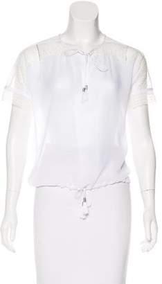Ohne Titel Embellished Short Sleeve Top