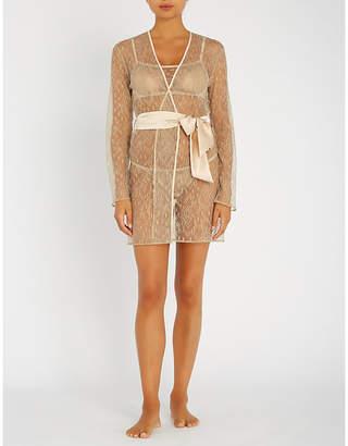 Myla Darling Row lace robe