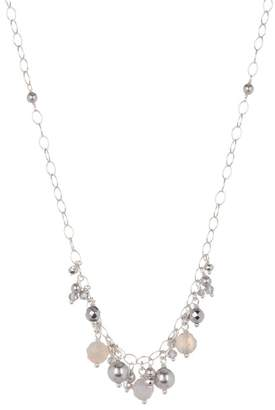 Chan Luu Sterling Silver Mixed Bead Necklace