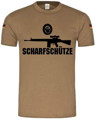 Hunter ALFASHIRT G3 Sniper Gun Activity Badge Bundeswehr G3A3 ZF Reservist