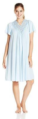 Shadowline Women's Women's Beloved 40 inch Flutter Sleeve Waltz Gown