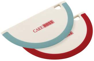 Cake Boss Assorted Tools and Gadgets Bowl Scrapers (Set of 2)
