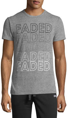 Chaser Men's Faded Slogan Tee