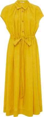 Co Drawstring Saffron Waist Dress