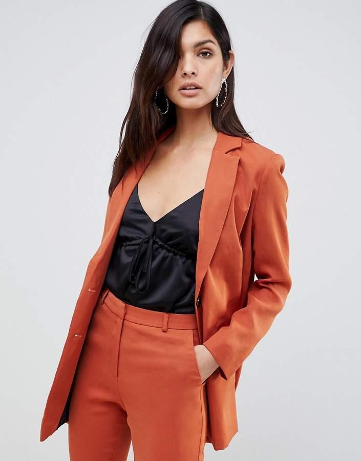 ASOS DESIGN longline blazer