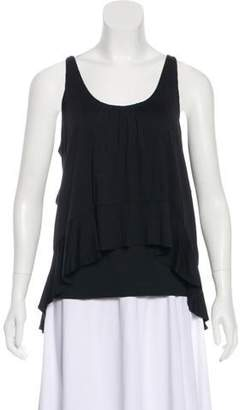 Marc by Marc Jacobs Tiered Asymmetrical Blouse