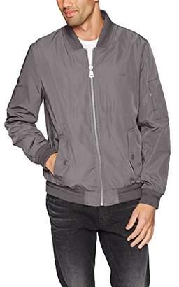 Calvin Klein Men's Flight Jacket with Pocket Detail
