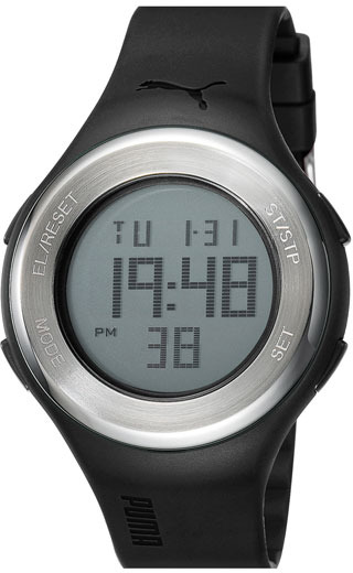 Puma 'Loop' Digital Chronograph Watch, 44mm