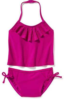 Ruffled Eyelet Tankini for Toddler Girls $16.94 thestylecure.com