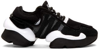 Y-3 Y 3 Black and White Ren Sneakers