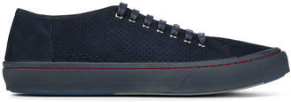 Donald J Pliner DAN, Perforated Tumbled Calf Sneaker