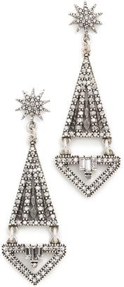 Lulu Frost Electra Statement Earrings $295 thestylecure.com