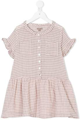 Emile et Ida grid pattern dress
