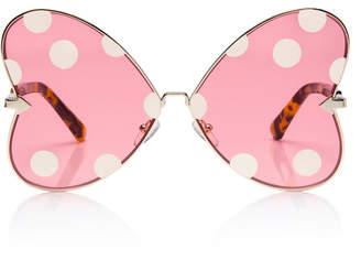 Karen Walker X Disney Minnie Bow Oversized Sunglasses