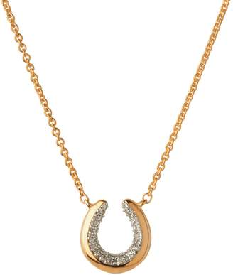 Links of London Ascot Diamond Essentials Horseshoe Necklace