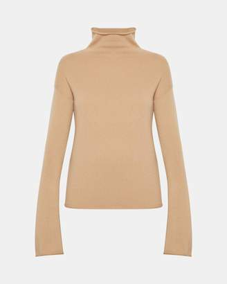 Theory Cashmere Bell-Sleeve Sweater