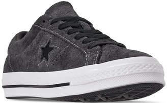 Converse Men Chuck Taylor One Star Dark Vintage Suede Casual Sneakers from Finish Line