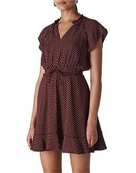 Whistles Jazmin Spot Dress