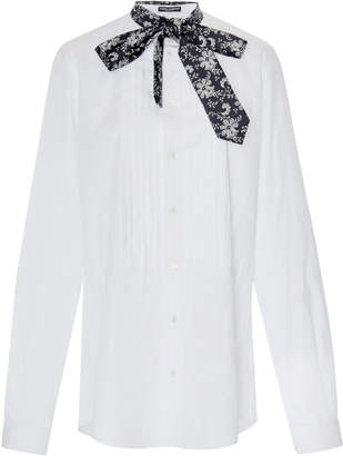 Dolce & Gabbana Pleated Button Down