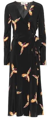Diane von Furstenberg Tilly printed silk wrap dress
