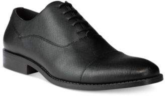 Unlisted by Kenneth Cole Men's Half-Time Textured Oxford