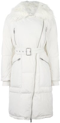 Diesel fur collar zip coat $461.69 thestylecure.com