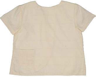 Teela Nyc Ben Boy Stitch Overlay Top