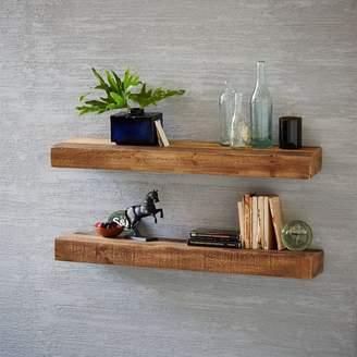 west elm Reclaimed Wood Floating Shelf