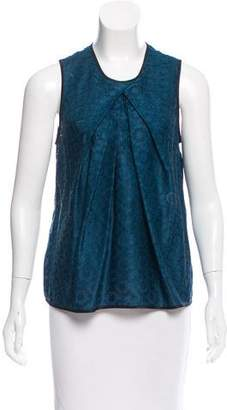Maiyet Sleeveless Silk Top