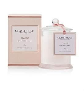 Glasshouse Fragrances Triple Scented Mini Candle Oahu 60G