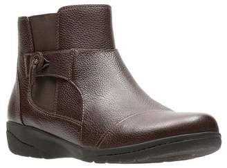 Clarks Cheyn Work Ankle Bootie - Wide Width Available