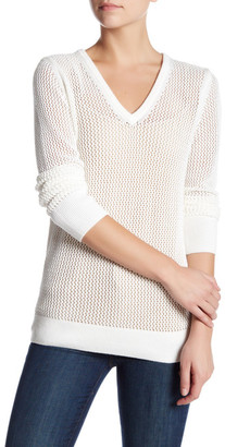 Equipment Cecile V-Neck Sweater $248 thestylecure.com