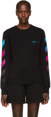 Off-White Black Gradient Sweatshirt
