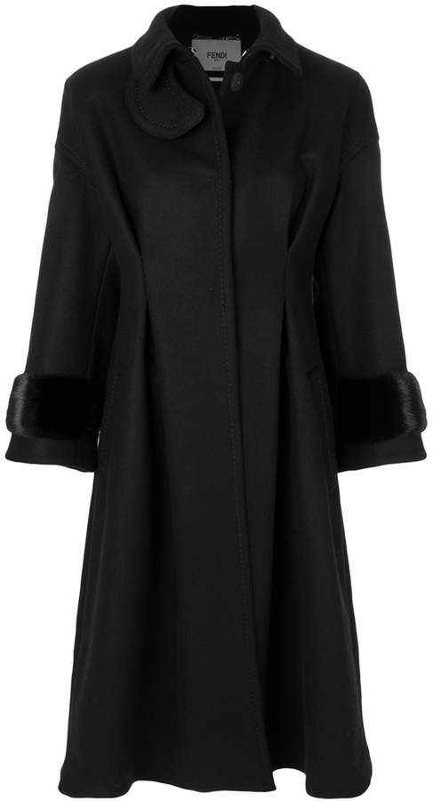 Fendi oversized long coat