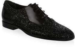 Jimmy Choo Embellished Suede Dress Shoes
