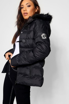 boohoo Short Quilted Bubble Jacket
