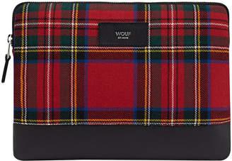 Wouf - Red Tartan iPad Case