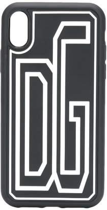 Dolce & Gabbana stretch logo i-phone XR case