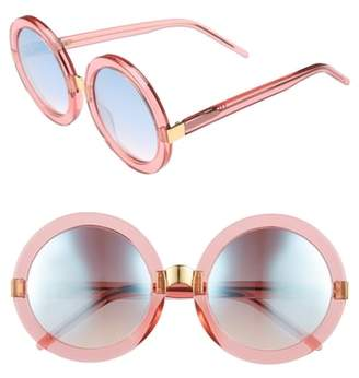Wildfox Couture 'Malibu Deluxe' 55mm Retro Sunglasses