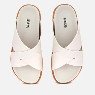 da803b7acda1d2 Melissa Women s Energy Cross Slide Sandals - White